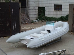 5.2m RIB boat,inflatable boat