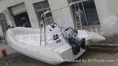 6.8m rigid hull inflatable boat,RIB boat