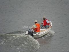 dinghy fishing boat