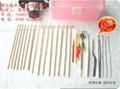 采耳工具,純手工製造鵝毛棒 4