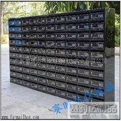 黑金不鏽鋼信報箱
