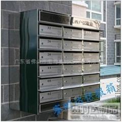 高檔挂牆式不鏽鋼信報箱