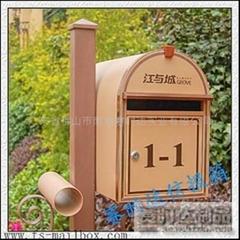 歐式戶外別墅信報箱