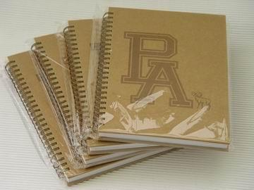 Recycled Spiral notebook 1