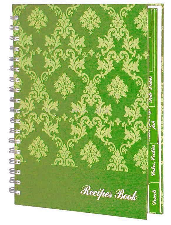 Recycled Spiral notebook 2