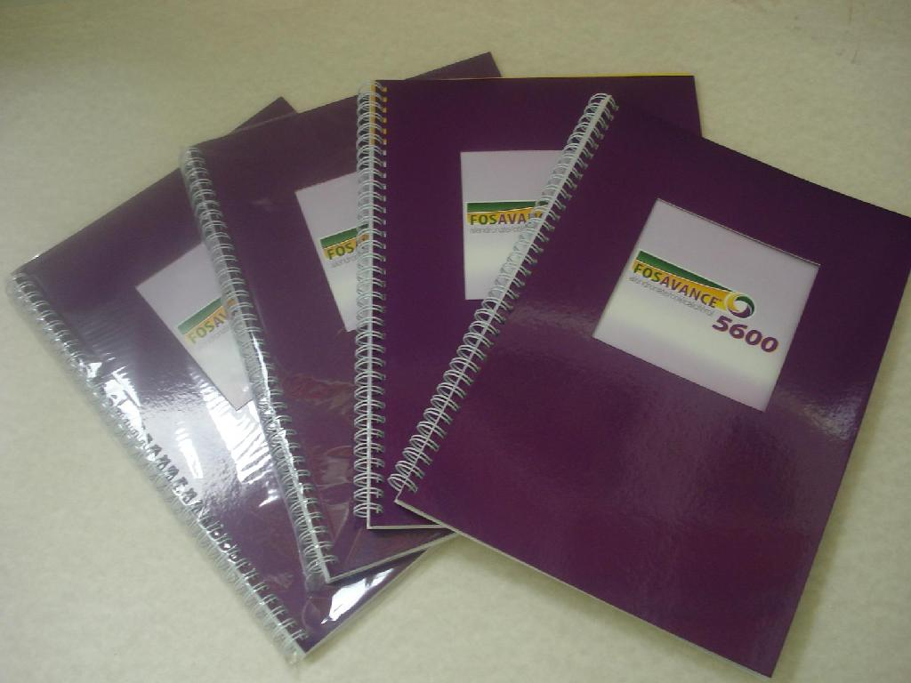 Recycled Spiral notebook 3
