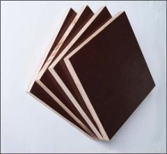 柳桉防水黑膜建筑模板