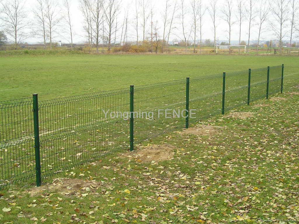 Wire fence netting fencing