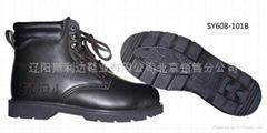 中帮绝缘耐磨电工工作鞋