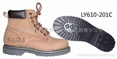 纯羊毛防砸防滑耐磨保暖工作鞋
