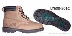牛皮耐磨防刺穿防滑工作鞋