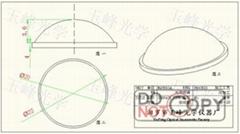 光學玻璃 LED透鏡 22MM