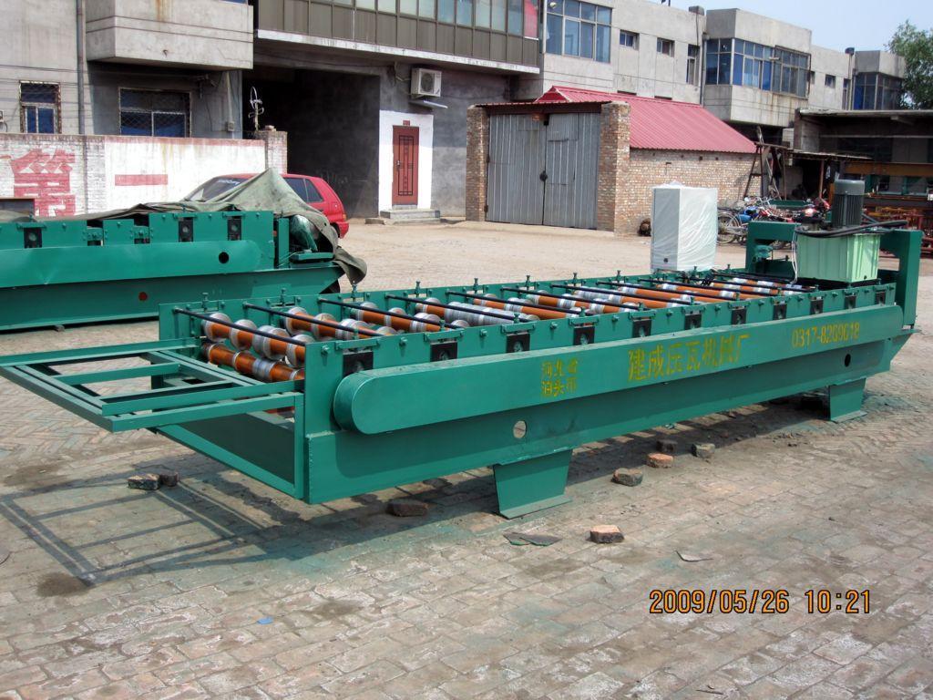 900型压瓦机 组别1 产品目录 泊头市建成压瓦机械厂