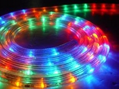 LED rope light( 5 wires round)