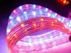 LED rope light( 4 wires flat)