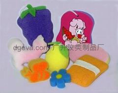 海棉玩具制品