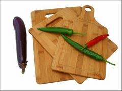 3pcs bamboo cutting board set