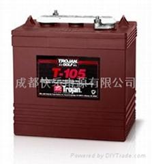电动巡逻车电池T-105