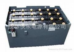 佳友牌电动叉车蓄电池9VBS450