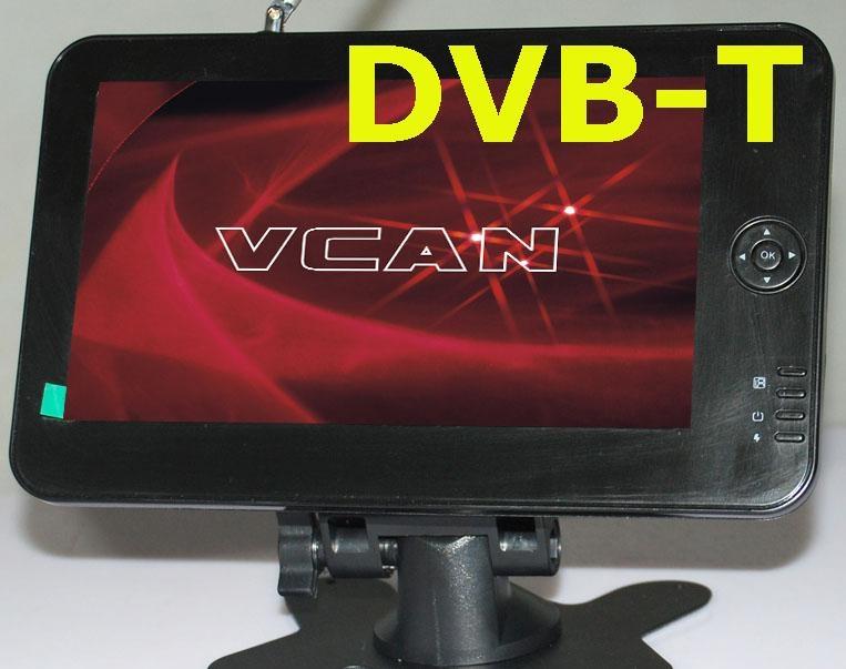 """7"""" monitor built-in DVB-T  1"""