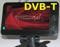 "7"" monitor built-in DVB-T"