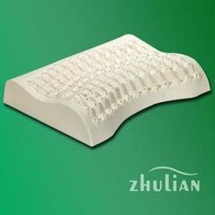 乳胶按摩枕,乳胶枕头,按摩乳胶枕,月牙按摩枕,女士按摩枕