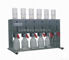 瓶裝六聯獨立過濾器