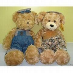 毛绒玩具熊加工