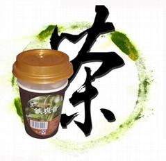 """""""來一泡""""方便茶(杯中含原茶葉)"""