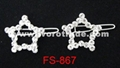 Hair clip, hair pin, barrette FS-868 3