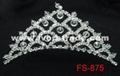 Crystal tiara FS-875