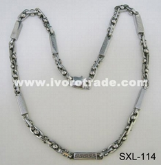 Stainless steel necklace SXL-114
