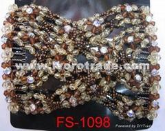 Magic hair comb, EZ comb, stretch bead hair comb FS-1098