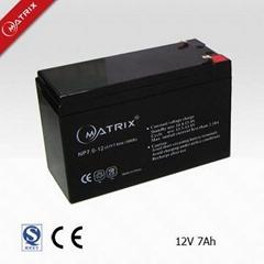 12V7AH sealed lead acid battery