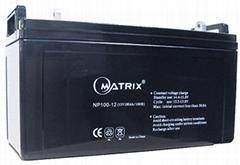 maintenance free lead acid battery (12v100ah /good performance )