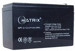 battery for security 12V7AH