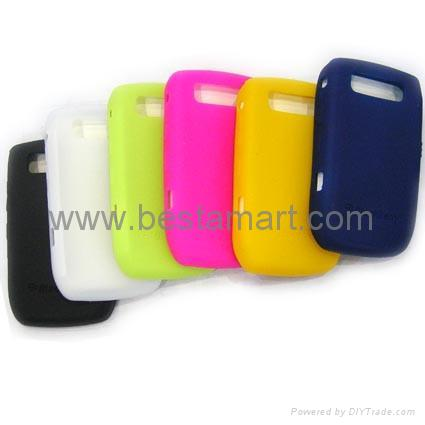 Silicone Silicon Case for Blackberry Curve 8300 8900 Gemini 8520 Bold 9000 9700 5