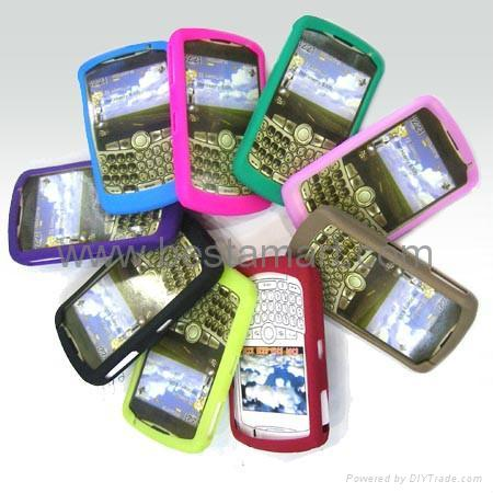 Silicone Silicon Case for Blackberry Curve 8300 8900 Gemini 8520 Bold 9000 9700 2