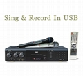 Multi-Format Karaoke Machine with SD / USB Reader + Recording 1