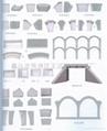 拱形骨架護坡專供塑料模具
