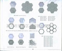 工程六角護坡塑料模具
