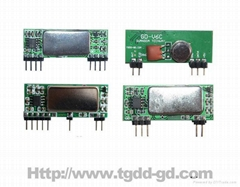 Low-power Consumption ASK Receiver Module