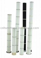 Long Pulse Pleated Bag Air Filter Cartridge