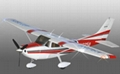 Cessna 182  fixed wing airplane and accessories 1