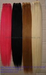Human hair weaving/wefts
