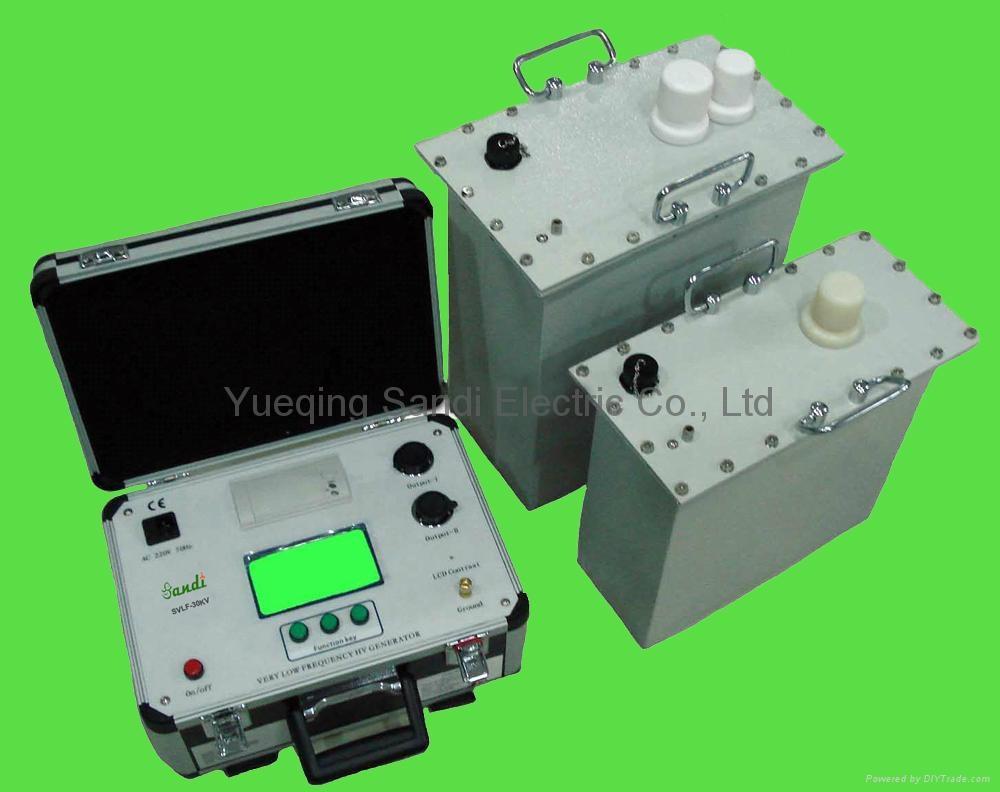 High Voltage Tester Manufacturers : Svlf kv very low frequency high voltage tester sandi
