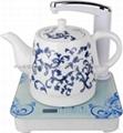 电热水壶自动抽水陶瓷水壶 1