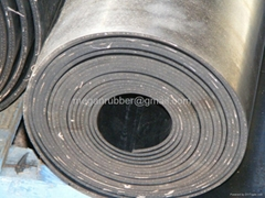 Neoprene rubber rolls for puch rubber gaskets and rubber seal strips
