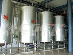 啤酒CIP清洗系统(啤酒CIP清洗设备、碱罐)