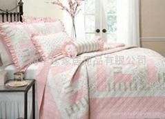 批发外贸全棉水洗绗缝被空调被绗缝地垫
